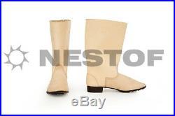 Ww2 German Jackboots Marschstiefel Repro European Made Original Nails Size 46 12
