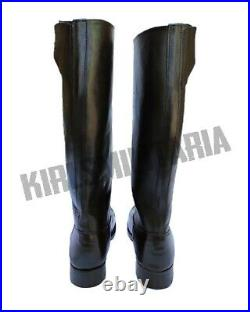 Ww2 German Officer Leather Boots