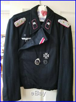 Ww2 German Panzer Oberst (colonel) Field Uniform Complete! Size XL