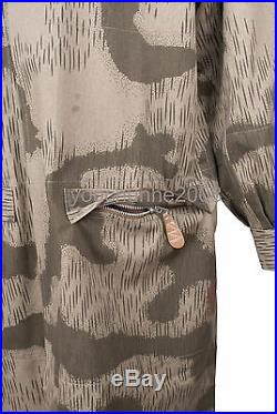 Ww2 German Paratrooper Fallschirmjaeger Tan&water Camouflage Smock Xxl-36268