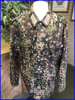 Ww2 German Police Uniform Camoflage Oakleaf Pattern Repro XLarge