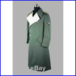 Ww2 German Waffen Generals Greatcoat (custom Tailored / Made) -32572