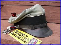 Ww2 German Waffen-ss Leibstandarte (lah) Div. Nco'crusher', Field Cap