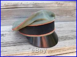 Ww2 German Waffen-ss Military Police Crusher Cap