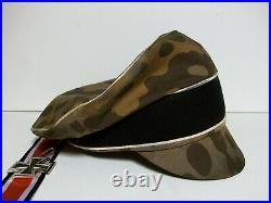 Ww2 German Waffen-ss Polyspot Camo'crusher'-fall Collor! #2 Cbr