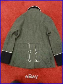Ww2 German tunic only Large size with collar tabs and cuffs titles same day ship