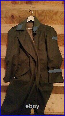 Ww2 M40 Field Grey Wool Greatcoat
