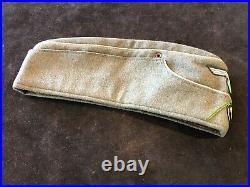 Ww2 Military M38 Liutenents Field Hat Cap German Wool Sm. Gi Bring Back Rare Vg