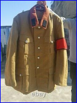Ww2 RAD Tunic with collar tabs