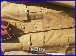 Ww2 RAD Tunic with collar tabs