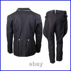 Ww2 Wwii German Elite M32 Officer Wool Tunic Breeches Set Uniform XXXL