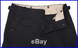 Ww2 Wwii German Elite Ss Panzer Wool Jacket Trousers Set Military Uniform XL