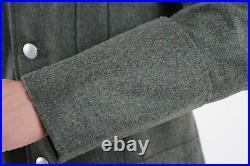 Ww2 Wwii German M36 Officer Wool Field Military Uniform Tunic & Breeches L