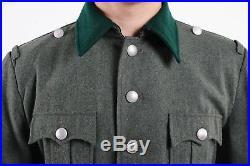 Ww2 Wwii German M36 Officer Wool Field Military Uniform Tunic & Breeches XXL
