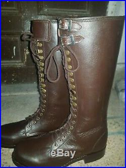 Ww2 double Buckle boots Reproduction