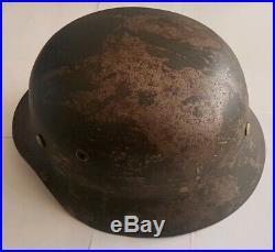 Wwii German Army Afrika Korps Dak M35 Helmet Steel Helmet Ns66