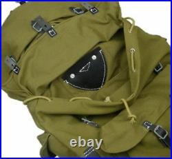 Wwii German Army Heer Elite Mountain Trooper Troops Canvas Rucksack Military