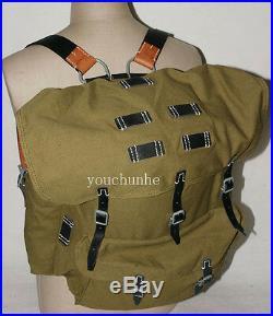 Wwii German Army Heer Elite Mountain Troops Canvas Rucksack Backpack -32441