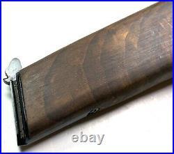 Wwii German Belgian Browning High Powered 9mm Pistol Wooden Holster