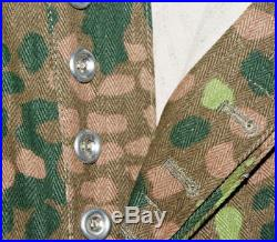 Wwii German Elite Hbt Peas Dot 44 M43 Field Camouflage Military Uniform XXL