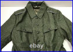 Wwii German Heer Army M1943 M43 Wool Combat Field Tunic-2xlarge 48r