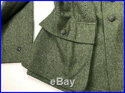 Wwii German Heer Army M1943 M43 Wool Combat Field Tunic-xlarge 46r