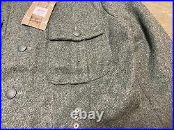 Wwii German Heer Army Waffen M1940 M40 Combat Field Tunic-large 44r