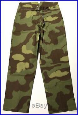 Wwii German Italian Camo M37 Combat Field Trousers-medium