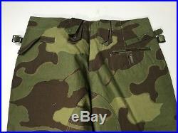 Wwii German Italian Camo M43 Combat Field Trousers-large