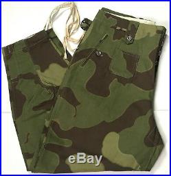 Wwii German Italian Camo M43 Combat Field Trousers-medium