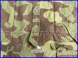 Wwii German Italian Camo Mountaineer Gebirgsjager Mountain Anarok Jacket-size 3