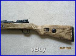Wwii German Kar 98k Custom Replica Real Wood Stock Non Firing
