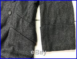 Wwii German Luftwaffe Blue Wool M40 Overcoat Greatcoat- Size 5 (50-54r)