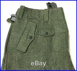 Wwii German Luftwaffe Fj Paratrooper M38 Jump Trousers-xlarge