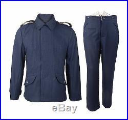 Wwii German Luftwaffe Wool Uniform Tunic & Trousers Set Military Uniforms M