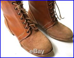 Wwii German M1933 M33 Jackboots Campaign Boots- Size 11