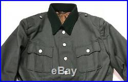 Wwii German M1936 M36 Officer Heer Waffen Tricot Tunic- Size 2 (38-40r)