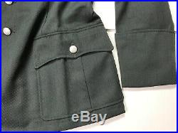 Wwii German M1936 M36 Officer Heer Waffen Tricot Tunic- Size 5 (52-54r)