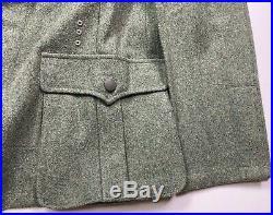 Wwii German M1936 M36 Wool Combat Field Tunic-large