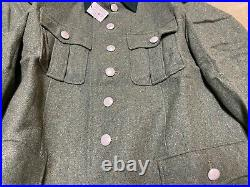 Wwii German M1936 M36 Wool Officer Tunic-infantry Large/xlarge 46r