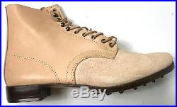 Wwii German M1937 M37 Leather Low Boots- Size 11
