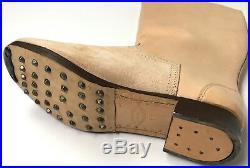 Wwii German M1939 M39 Leather Jackboots- Size 14