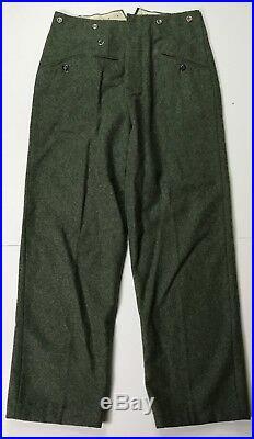 Wwii German M1940 M40 Wool Combat Field Grey Trousers- 3xlarge