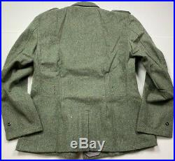 Wwii German M1940 M40 Wool Combat Field Tunic-large 44r