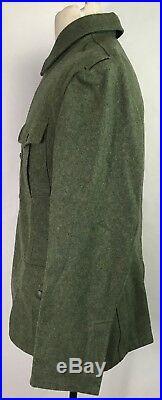 Wwii German M1940 M40 Wool Combat Field Tunic-medium