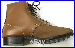 Wwii German M1942 M42 Leather Low Boots- Size 11