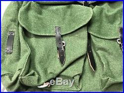 Wwii German M31 Field Pack Backpack Rucksack-green