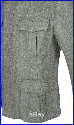 Wwii German M36 Em Wool Field Uniform Tunic & Trousers S-32120