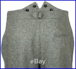 Wwii German M36 Em Wool Field Uniform Tunic & Trousers Size L-32120