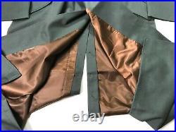 Wwii German M36 M1936 Officer Gabardine Overcoat Greatcoat- Size 3 (44r, 46r)